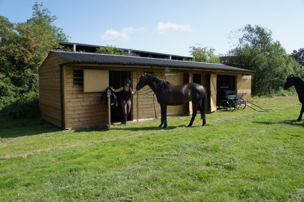 Mobile field shelters and mobile stables East Anglia