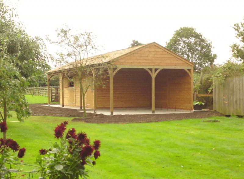 Timber Garden Buildings x 2