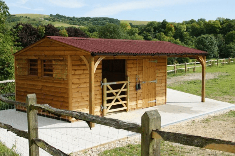 horse Stables Static Field Shelters